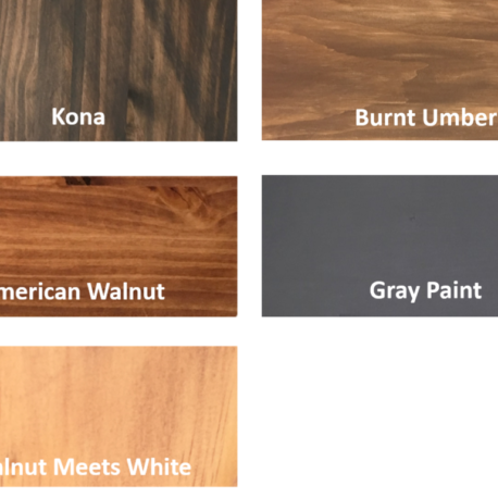 Wood Stain and Paint Colors – Emalene